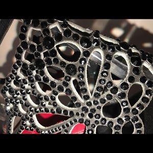 49b373246a6182 Cesare Paciotti Shoes - Cesare Paciotti Swarovski Crystal Flat Sandal 39
